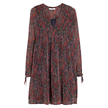 Buy Mango Printed Chiffon Dress, Multi Online at johnlewis.com