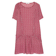 Buy Mango Short Sleeve Dress, Mulberry Red Online at johnlewis.com