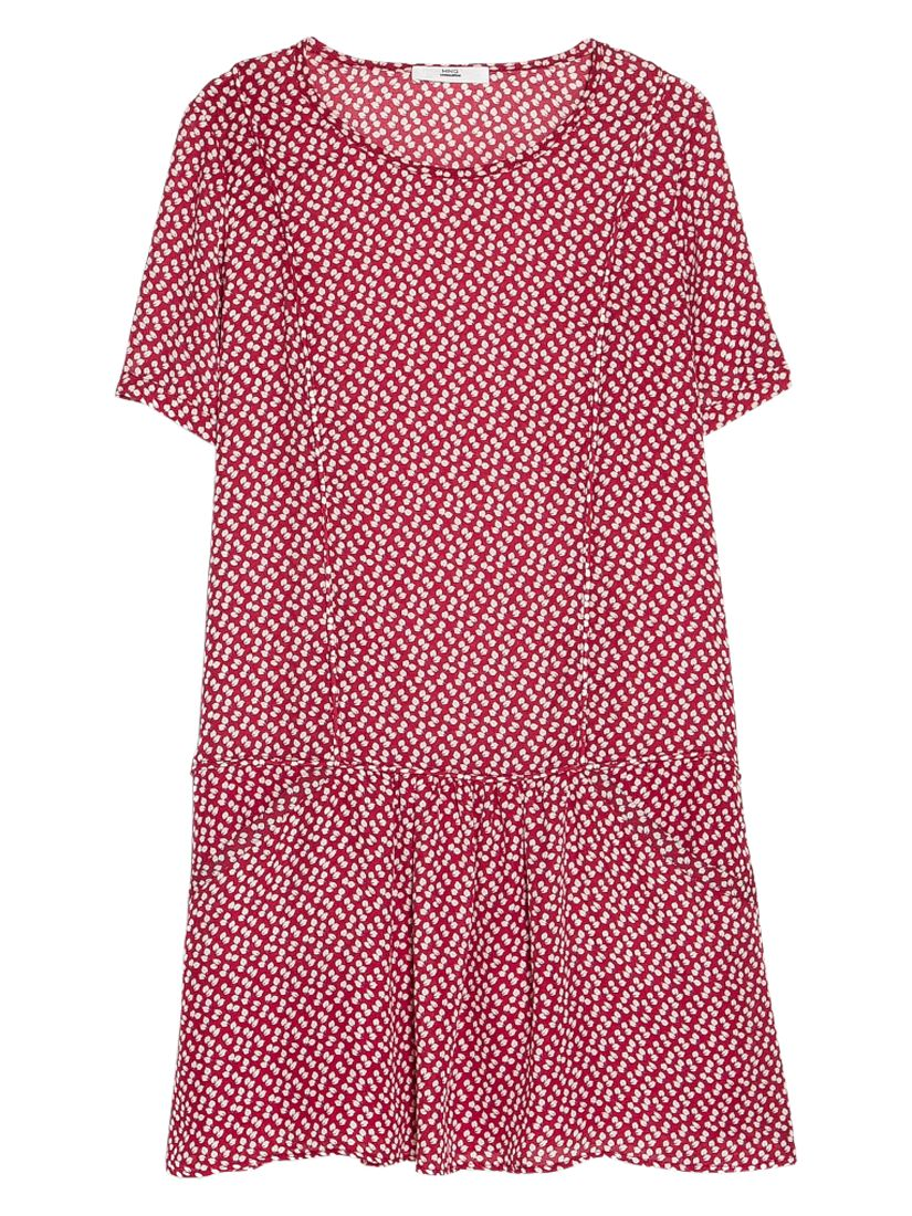 mango short sleeve dress mulberry red, mango, short, sleeve, dress, mulberry, red, 12|6|10|8, women, womens dresses, new in clothing, 1941200