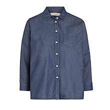 Buy Weekend by MaxMara Denim Shirt, Midnight Blue Online at johnlewis.com