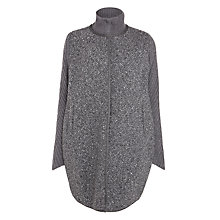 Buy Weekend by MaxMara Elba Coatigan, Dark Grey Online at johnlewis.com