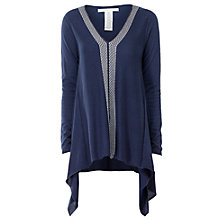 Buy Max Studio Stitch Detail Jumper, Navy Online at johnlewis.com