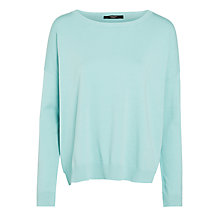 Buy Weekend by MaxMara Maratea Split Side Jumper, Mint Online at johnlewis.com