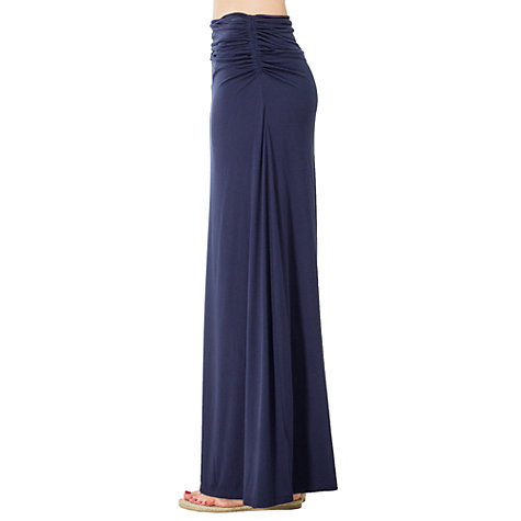 buy max studio jersey maxi skirt navy lewis
