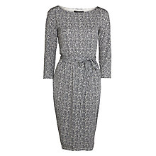 Buy Weekend by MaxMara Superbo Print Jersey Dress, Sand Online at johnlewis.com