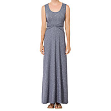 Buy Max Studio Jersey Maxi Dress, Indigo/Ivory Online at johnlewis.com
