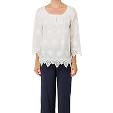 Buy Max Studio Blouse, Ivory Online at johnlewis.com