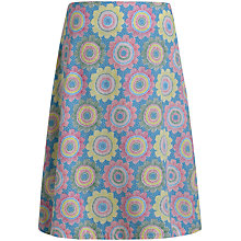 Buy Seasalt Reversible Portfolio Skirt, Etched Flower Multi Online at johnlewis.com