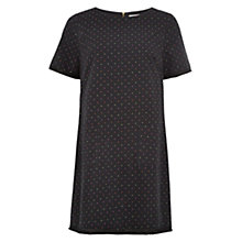 Buy Louche Spot Dress, Black Online at johnlewis.com