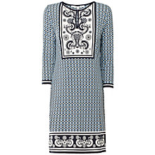Buy Max Studio Print Jersey Dress, Navy Online at johnlewis.com
