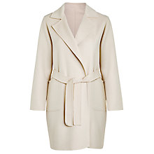 Buy Weekend by MaxMara Double Face Coat, Sand Online at johnlewis.com
