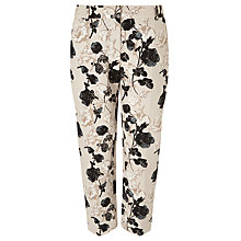 Buy Weekend by MaxMara Abele Floral Trousers, Green Online at johnlewis.com