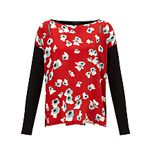 Buy Weekend by MaxMara Amice Daisy Top, Black Online at johnlewis.com