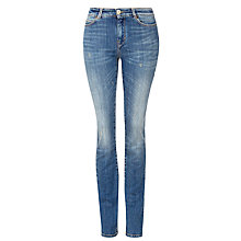 Buy Weekend by MaxMara Zolfo Slim Leg Jeans, Mid Blue Online at johnlewis.com