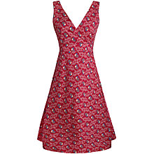 Buy Seasalt Killigrew Dress, Ropework Breton Red Online at johnlewis.com