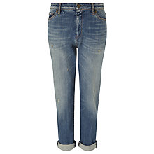 Buy Weekend by MaxMara Boyfriend Jeans, Blue Online at johnlewis.com