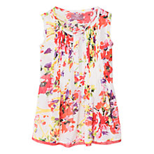 Buy Mango Kids Girls' Floral Print Sleeveless Blouse Online at johnlewis.com