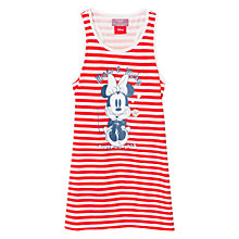 Buy Mango Kids Girls' Disney Minnie Mouse Stripe Nightdress, Red Online at johnlewis.com