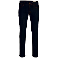Buy Selected Homme Two Mario Unwashed Jeans, Dark Blue Online at johnlewis.com