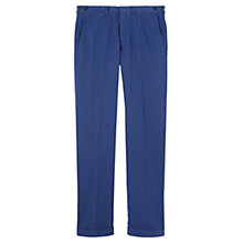 Buy Jigsaw Garment Dye Slim Trousers Online at johnlewis.com