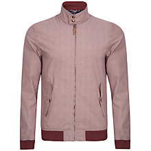 Buy Ted Baker Duteful Checked Harrington Jacket Online at johnlewis.com