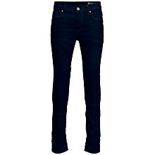 Buy Selected Homme One Fabios Dark Denim Jeans, Dark Blue Online at johnlewis.com