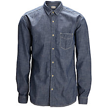 Buy Selected Homme Slim Fit Denim Shirt, Medium Blue Online at johnlewis.com