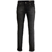 Buy Selected Homme One Fabios Jeans, Grey Online at johnlewis.com