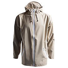 Buy Rains Breaker Zip Through Jacket, Taupe Online at johnlewis.com