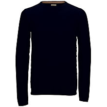 Buy Selected Homme Anton Crew Neck Jumper, Navy Blazer Online at johnlewis.com
