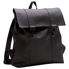 Buy Rains MSN Bag, Black Online at johnlewis.com