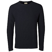 Buy Selected Homme Vince Bubble Crew Neck Jumper Online at johnlewis.com