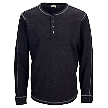 Buy Selected Homme Raw Split Neck Long Sleeve T-Shirt Online at johnlewis.com