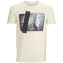 Buy Selected Homme Made T-Shirt, Egret Online at johnlewis.com
