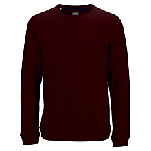 Buy Selected Homme Brandy Crew Neck Jumper, Fudge Online at johnlewis.com