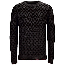 Buy Selected Homme Noah Crew Neck Jumper, Grey Online at johnlewis.com