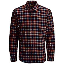 Buy Selected Homme Greff Long Sleeve Flannel Check Shirt Online at johnlewis.com