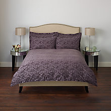 Buy John Lewis Rococo Bedding, Damson Online at johnlewis.com