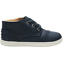 Buy TOMS Paseo Boots, Navy Online at johnlewis.com