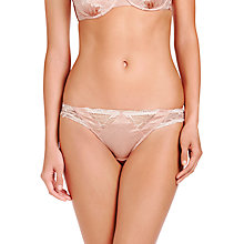 Buy Stella McCartney Selma Dancing Bikini Briefs, Peony / Floral White Online at johnlewis.com