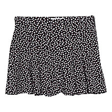 Buy Mango Pleated Shorts, Black Online at johnlewis.com