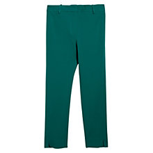 Buy Violeta by Mango Straight Trousers, Bright Green Online at johnlewis.com