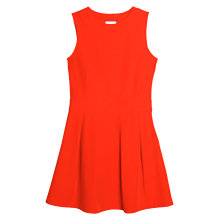 Buy Mango Cut-Out Back Dress, Blood Orange Online at johnlewis.com