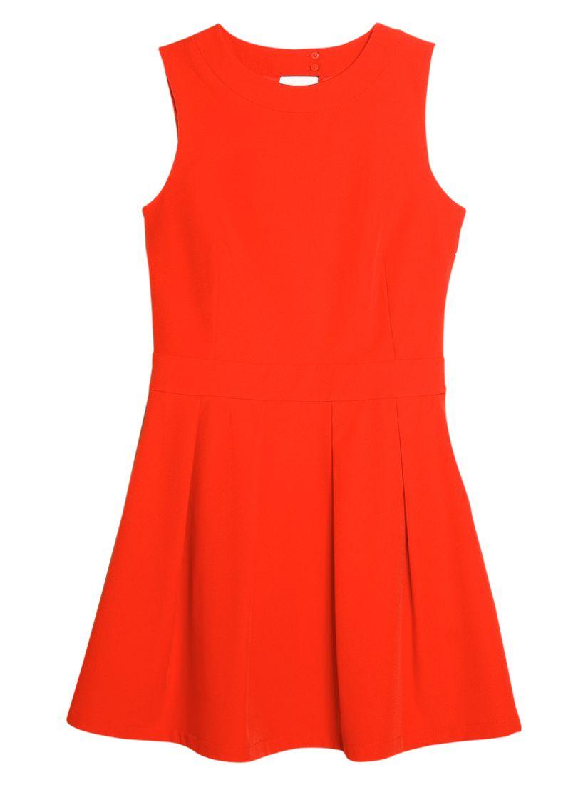 mango cut-out back dress blood orange, mango, cut-out, back, dress, blood, orange, 6|12|10|8|14, women, womens dresses, new in clothing, 1941329