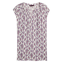 Buy Violeta by Mango Paisley Print Blouse, Bright Red Online at johnlewis.com
