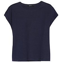 Buy Mango Rolled Sleeve T-Shirt Online at johnlewis.com