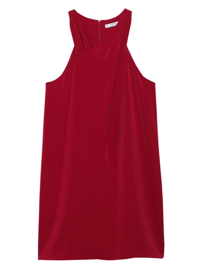 mango halter neck dress dark red, mango, halter, neck, dress, dark, red, 8|10|12|14|6, women, womens dresses, new in clothing, 1939763