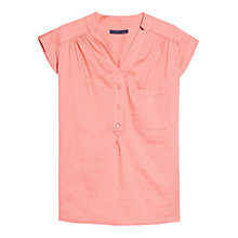 Buy Violeta by Mango Chest Pocket Blouse Online at johnlewis.com