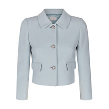 Buy Hobbs June Jacket, New Blue Online at johnlewis.com
