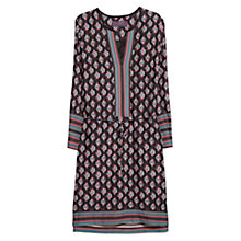 Buy Violeta by Mango Mixed Print Dress, Light Pastel Pink Online at johnlewis.com